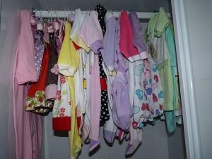 Sobre mim e as roupas de bebe