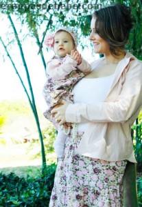 vestido infantil moda mae e filha