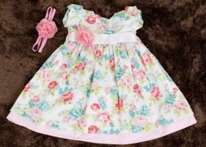 roupas de bebe floral