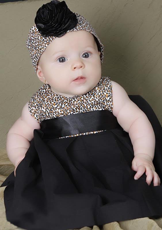 Modelos de vestidos para bebê