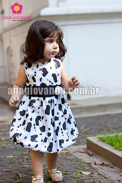 vestido fazendinha
