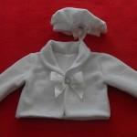 Vestido para bebe da moranguinho