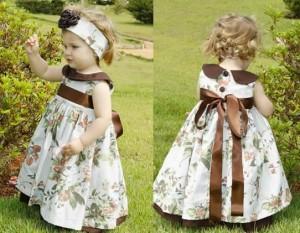 Vestidinhos de festa infantil