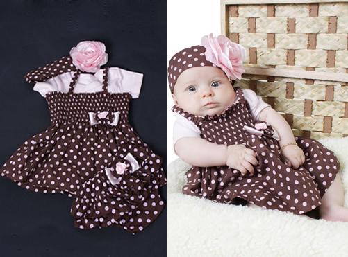 Vestidos de bebe para festa da moda