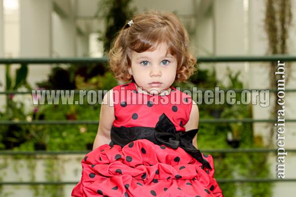 roupas de joaninha infantil para festa de casamento