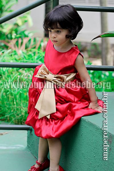 Vestidos infantil para casamento