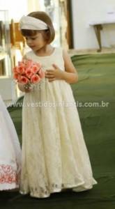 Vestidos de festa para casamento infantil