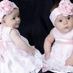 Modelo de vestido infantil