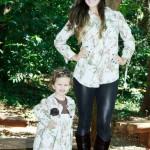 roupas mae e filha elegante