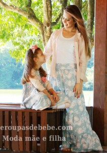 roupas mae e filha moda infantil