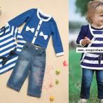 vestidos e bolero infantil