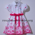 vestido para bebe