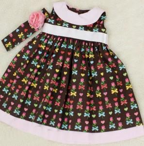 roupas de bebe femininas flores