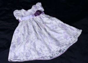 roupas de bebe femininas renda lilas