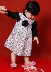 roupas de bebe femininas vestido