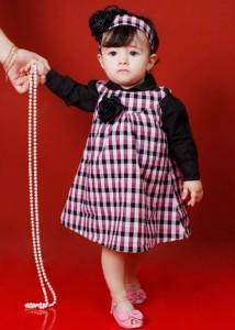 roupas de bebe femininas xadrez