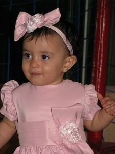 Giovanna vestido bebe rosa