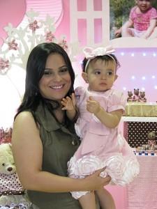 Giovanna vestido rosa bebe