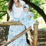 moda infantil mamae e menina