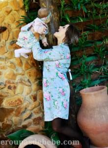 moda mamãe e bebê