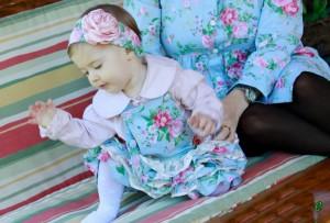 moda bebe floral