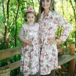 moda mae e filha infantil