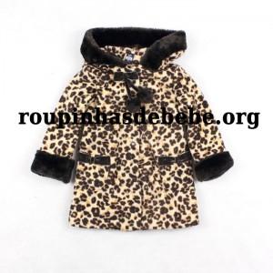 casaco oncinha inverno infantil frente