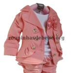 conjunto inverno infantil blusa e casaco