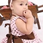 vestidos infantis e bebe