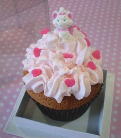 cupcake gatinha marie