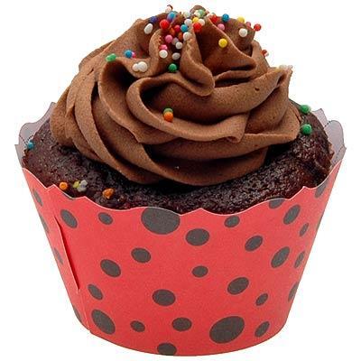 cupcake joaninha vermelho ladybug