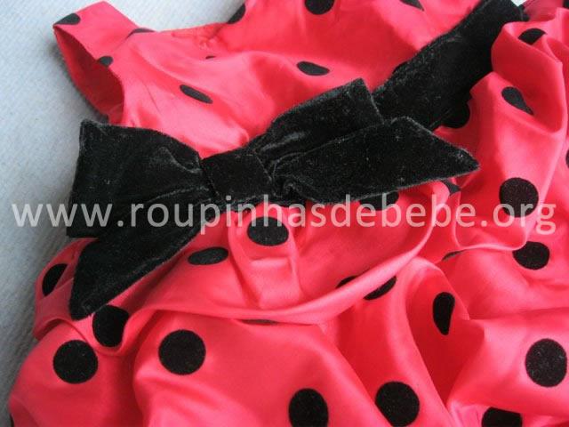 vestido joaninha para festas