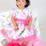 vestido para festa infantil jardim encantado