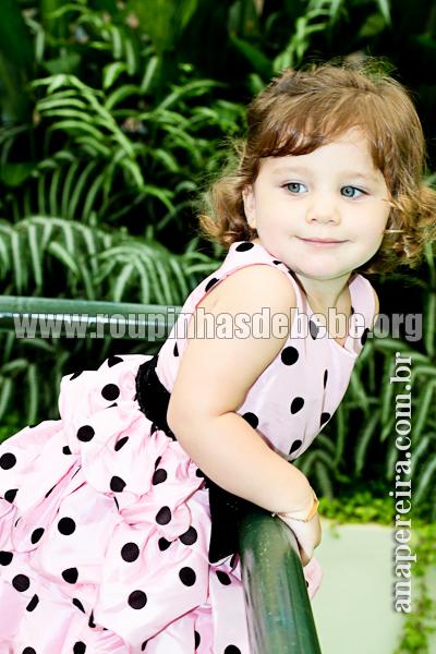 vestido da moranguinho infantil