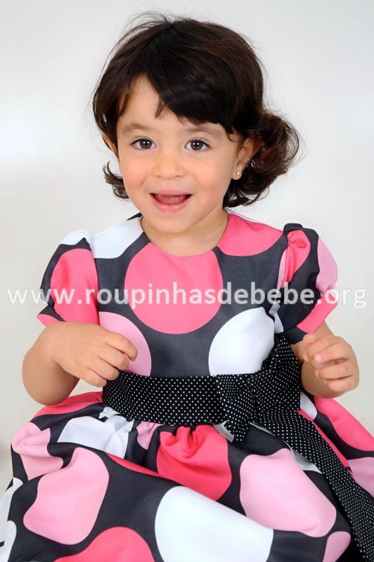vestido minnie infantil