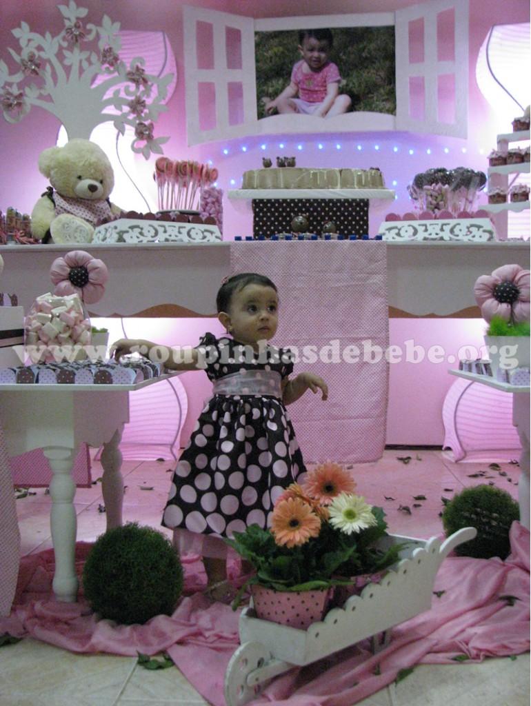 vestidos de festas rosa e marrom infantil