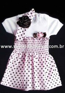blusa e saia infantil feminino