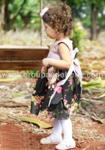 conjunto infantil feminino social