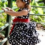 vestidos de festa infantil preto