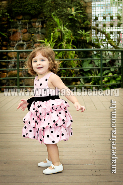roupa infantil de festa para menina
