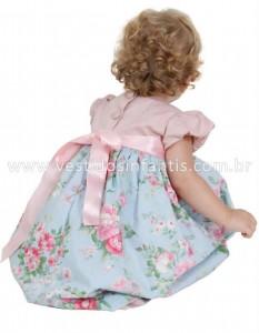 Vestido de bebê