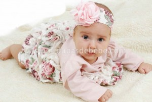 Roupas de bebê feminina