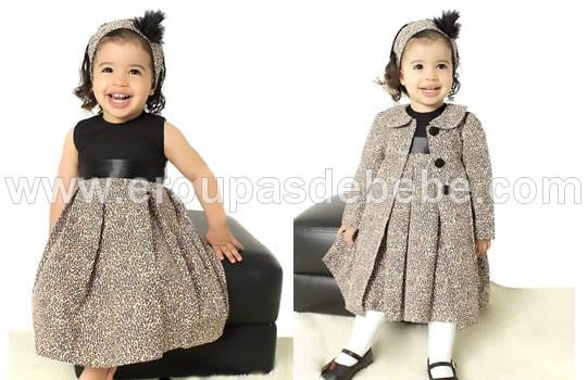 vestido oncinha com preto infantil