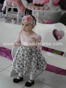 Vestido de criança para festa