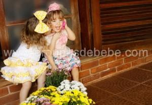 Roupas para meninas de 1 ano