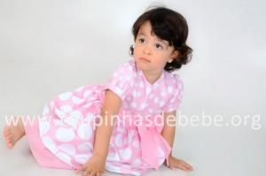 vestido da minnie baby