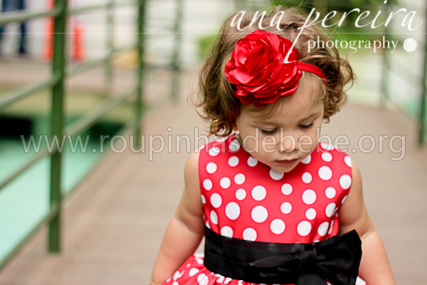 vestido de festa infantil minnie mouse