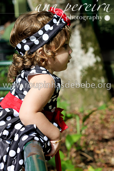 vestido infantil minnie baby