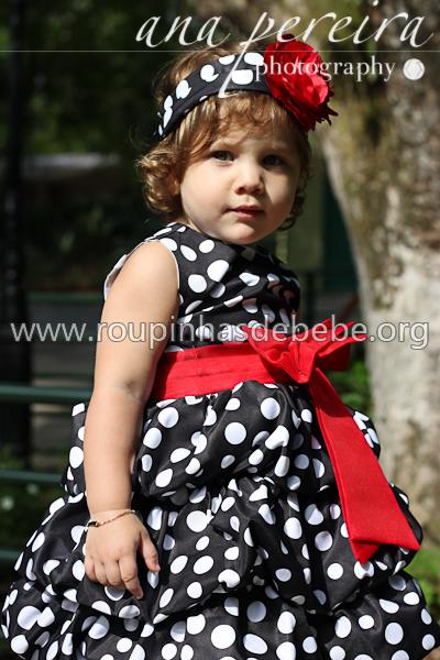 vestido minnie baby