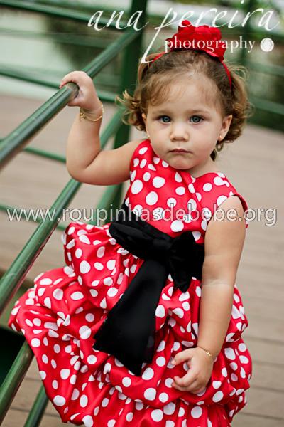 vestido minnie mouse baby